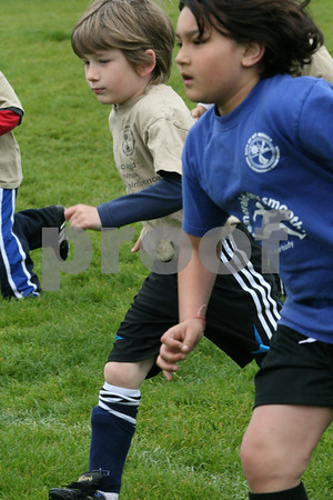 U7 Great Whites Spring Soccer, May 2, 2009