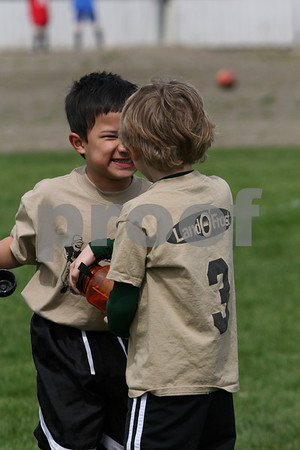 U7 Great Whites Spring Soccer, April 18, 2009