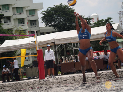 UST vs ADU Women's Division, Beach Volleyball Finals