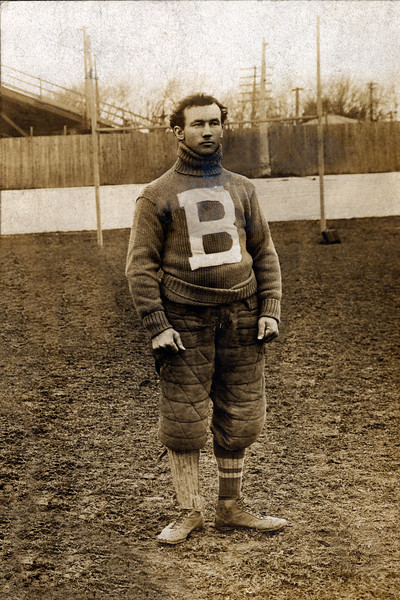 Peter McPherson, University at Buffalo football halfback, 1899 and 1900 seasons.