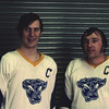 Bill Newman, Bob Goody, University at Buffalo hockey, 1971-72.