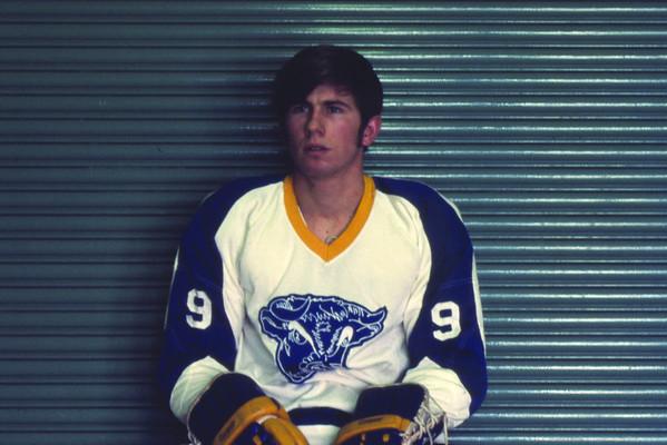 John Stranges, University at Buffalo hockey, 1971-72.