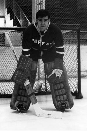 Mike Dunn – Buffalo Bulls goalie, 1971