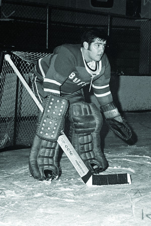 Mike Dunn – Buffalo Bulls goalie, 1971