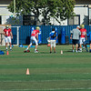 Visible QBs: #4 Kevin Prince: #14 T.J. Millweard; #18 Mike Fafaul and #11 Jerry Neuheisel.<br /> Two QBs Not in Frame:  #12 Richard Brehaut and #17 Brett Hundley