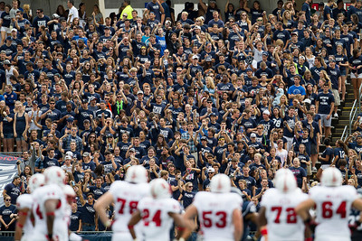 East Hartford CT Sept. 8 2012 Rentschler Field UConn student section