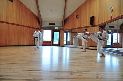 Sunday punching and kicking. 2/8/2009