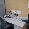 Close up of J's desk.