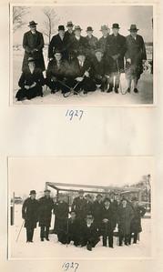 1927 Onderschrift: 1927 Opmerking: niet in Deventer Dagblad. Ws wel U.D-kanon.   AlbumSimonVanGroningen70  Fotograaf: onbekend  Formaat: elke foto 10 x 8  Afdruk zw