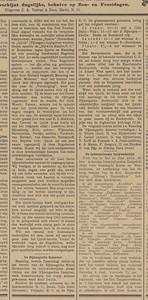 19100328 Aankondiging Samovar 28 maart 1910. Loting en tijden.   Provinciale Geldersche en Nijmeegsche Courant 26 maart 1910