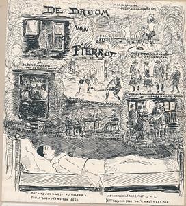 191802 Onderschrift: foto 1 1e Hock reunie Kanon no.5 Febr. 1918 blz. 207 (Pierrot = v.d. Vegte)  Opmerking: inderdaad 2e jrg. 1 februari 1918 no. 5 p.207.   Archief UD  Fotograaf: nvt Formaat: 19 x 18 Afdruk zw