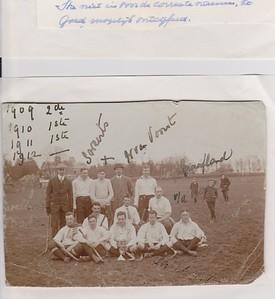 19110416 Team Velp op de Samovar in 1911.  Die was op 16 april 1911.   Foto akomstig van Frank Kerverlink Buisman