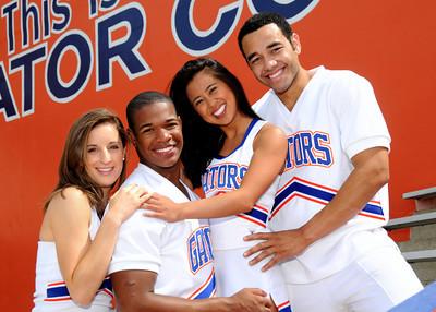 UF 2009 Senior Cheerleaders