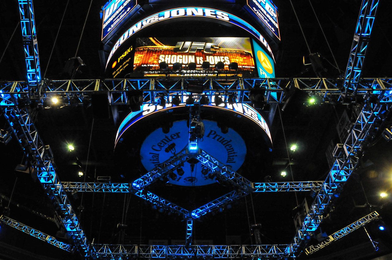 Prudential Center, UFC 128 - March 2011