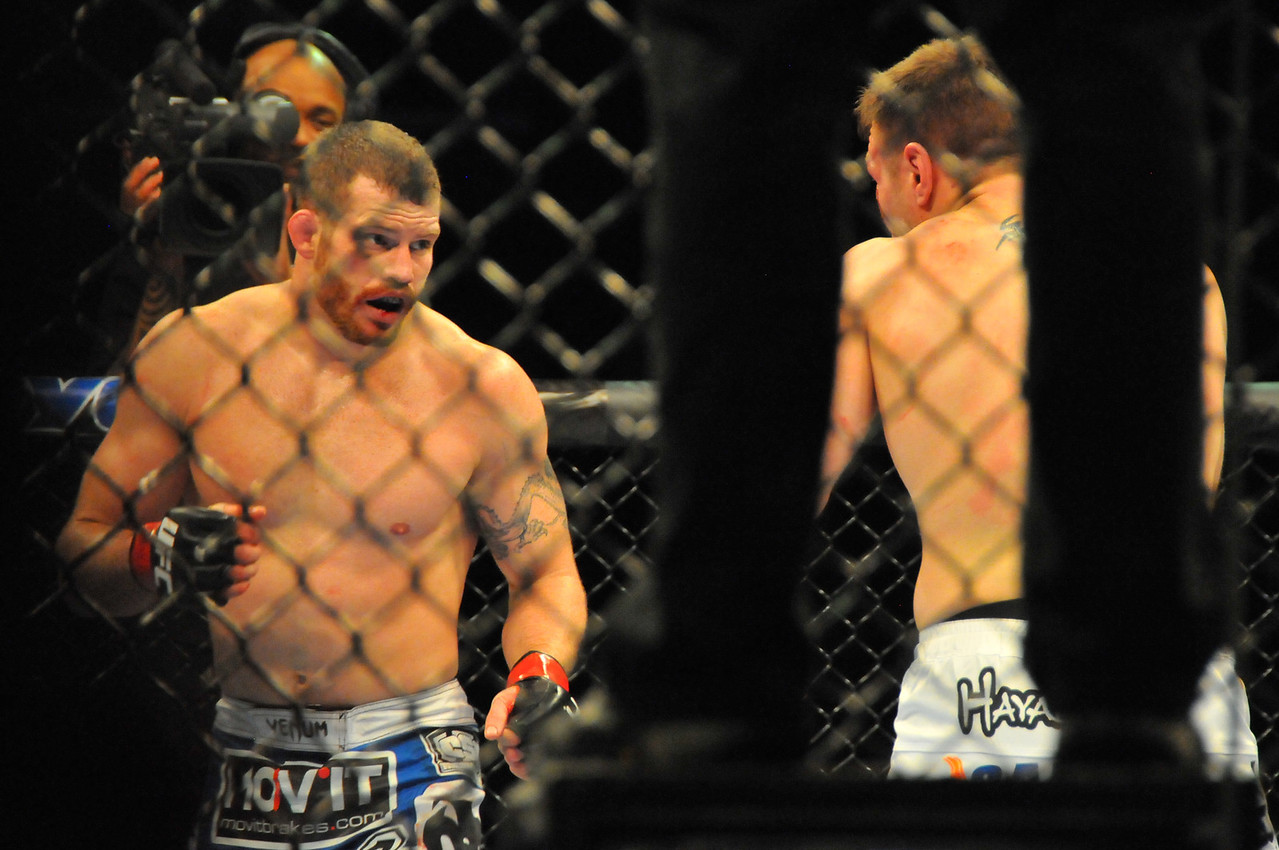 Nate Marquardt vs. Dan Miller, Prudential Center - March 2011