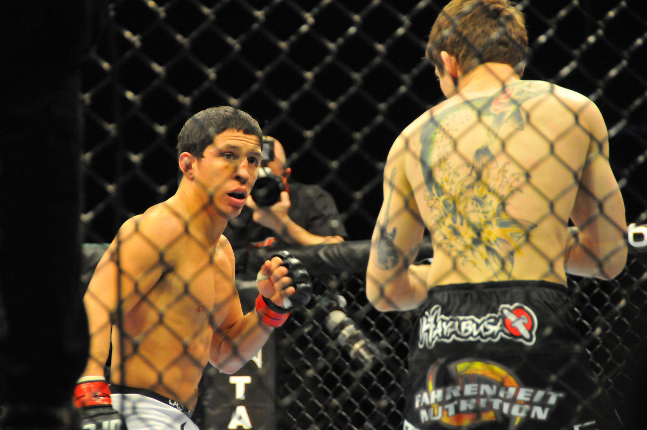 Joseph Benavidez vs. Ian Loveland, UFC 128 - March 2011