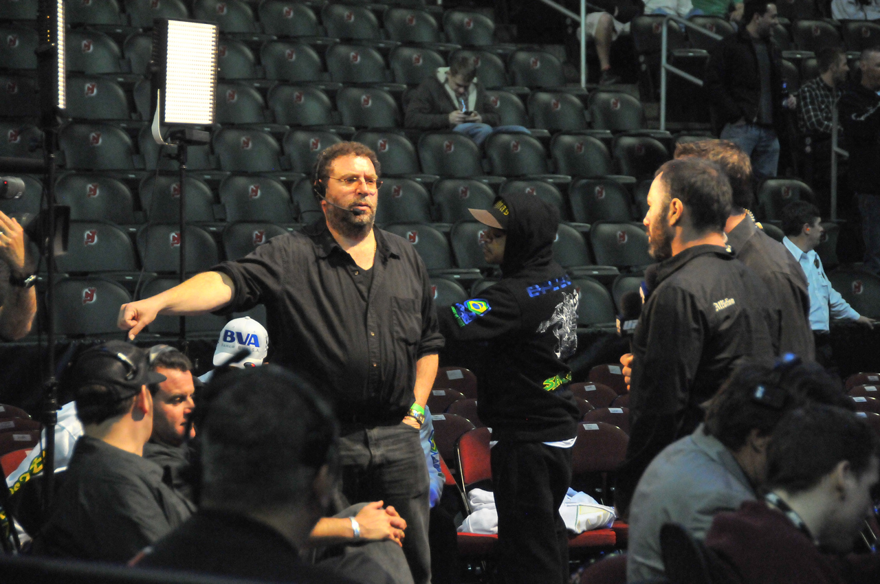 Mike Goldberg and Joe Rogan, UFC 128 - March 2011