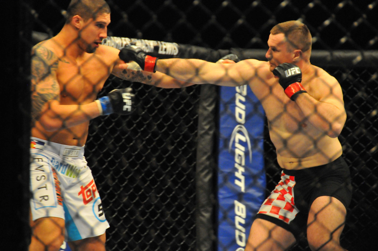 "Mirko ""Cro Cop"" Filipovic vs. Brendan Schaub, Prudential Center - March 2011"