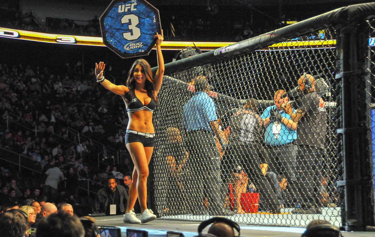 Arianny Celeste, Prudential Center, UFC 128 - March 2011