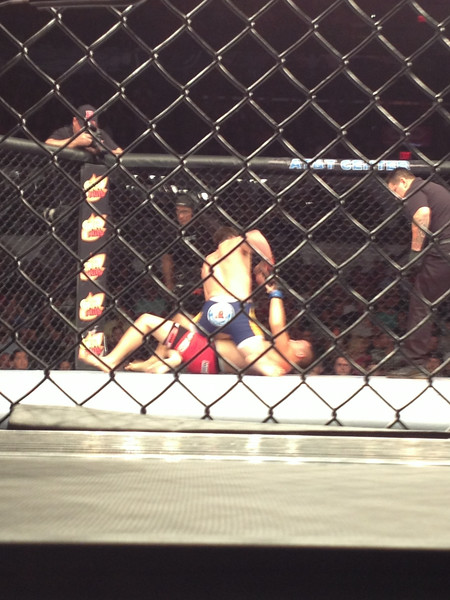 UFC San Antonio 6/28 - Stephen Tecci Cage Side photo