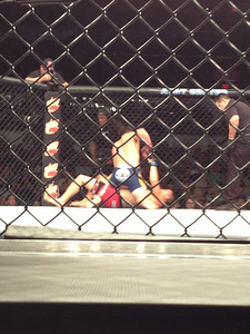 UFC San Antonio 6/28 - Stephen Tecci Cage Side photo