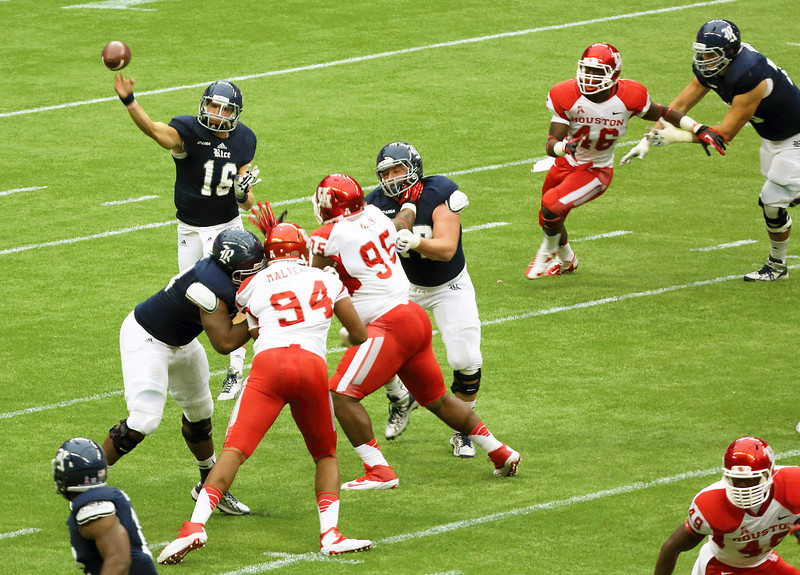 Rice's McHargue passing
