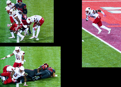 ... and Williams drops the ball on the return.   Birden recovers the fumble near the goal line.
