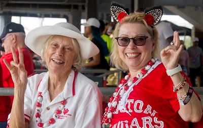 Carol Lienhard and Cheryl Brogan like the way things are going.