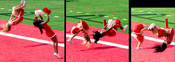 Who are the better athletes: Cheerleaders or players?