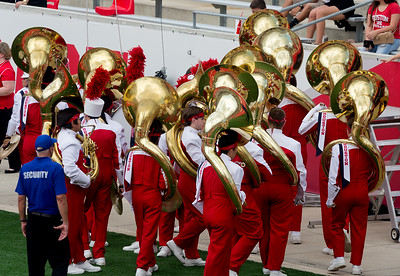 Here come UH's tubas.