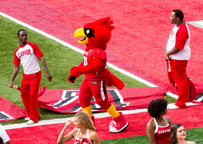 The Lamar Cardinal is not deterred.