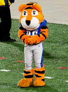 ... and their mascot, Tom the Tiger.