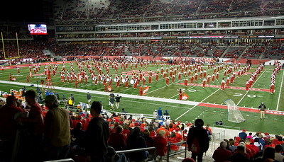 The UH band does a series of complex formations.