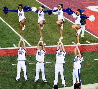 Memphis has brought cheerleaders ...