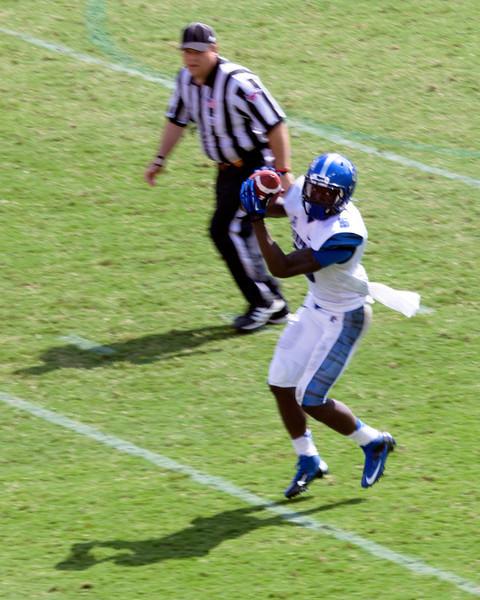Frazier receives a Memphis pass.