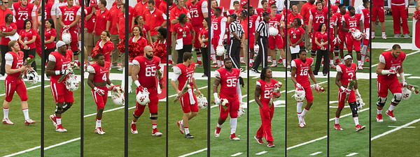 Left to Right: Frese, Parris, White, Wall, Piper, Mark, Jackson, Hightower, Jackson III, Cooper