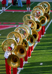 ... with its splendid tubas.