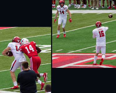 Shimonek to Cantrell for 28 yards.  (Ouch!)
