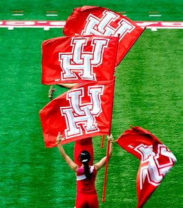 Whirling UH flags