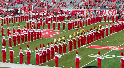 The Band makes an H for Houston.