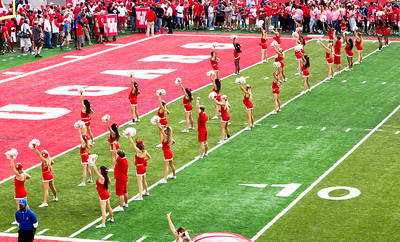 A Cheerleader formation