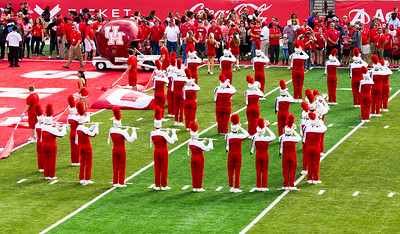 This is the Letter S of the Band's COUGAR formation.