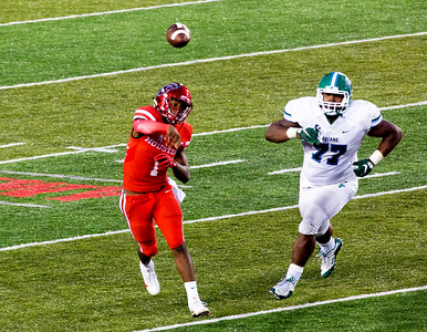 UH vs. Tulane, Nov. 12, 2016.  We won, 30-18 in a difficult game.