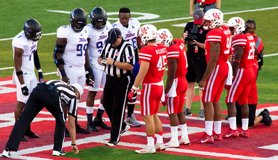 The coin toss.  Tulsa wins and elects to ...