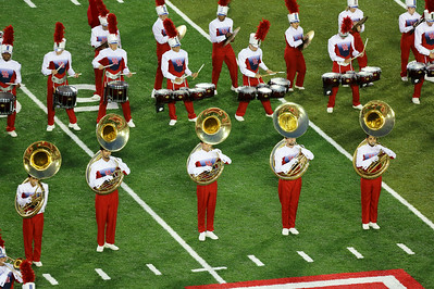 The tubas join them.