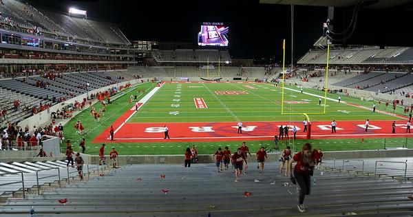 UH vs. UTSA in first TDECU Stadium game.  Aug. 29, 2014