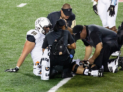 Second Vandy injury: Offensive tackle Fromang.