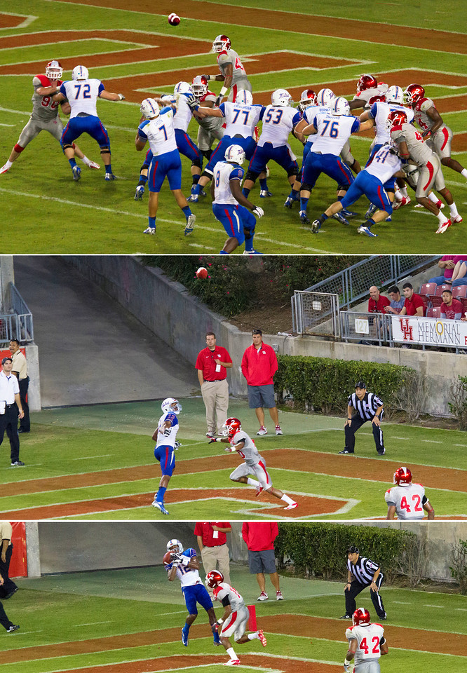 A Tulsa touchdown pass