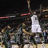 2010 Girls Basketball Tournament 5A Championship Game - Houston Cypress Fairbanks (white) vs. Fort Bend Hightower (green).