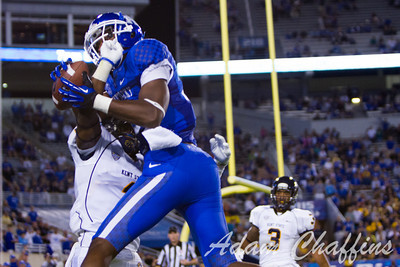 During the second half of the UK vs. Kent State football game at Commonwealth Stadium, Photo by Adam Chaffins